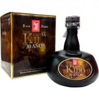 Arehucas - Ron Capitan Kidd 30 Anos 30 Jahre alter kanarischer Rum braun 40% Vol. 700ml produziert auf Gran Canaria