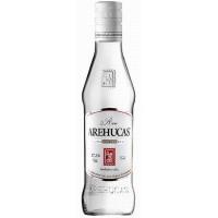 Arehucas - Ron Blanco weisser Rum 350ml 37,5% Vol. runde Glasflasche produziert auf Gran Canaria