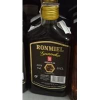 Arehucas - Ronmiel Guanche - Ron Miel - Honigrum 350ml 20% Vol. Flachmann produziert auf Gran Canaria