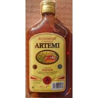 Artemi - Ronmiel Canario Ron Miel Honigrum 20% Vol. 350ml Glasflasche Flachmann produziert auf Gran Canaria