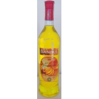 Baniks - Licor de Platano Islas Canarias Bananenlikör 20% Vol. 1l Glasflasche produziert auf Gran Canaria