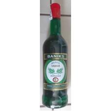 Baniks - Menta Liqueur Peppermint Pfefferminzlikör 20% Vol. 1l Glasflasche produziert auf Gran Canaria