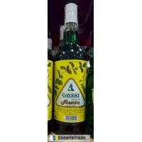 Cayest - Licor de Menta Pfefferminz-Likör 20% Vol. 1l produziert auf Teneriffa