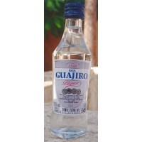 Ron Guajiro - Ron Blanco Rum 50ml Miniaturflasche 37,5% Vol. produziert auf Teneriffa