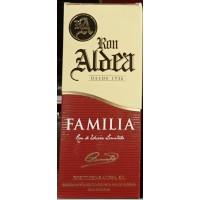 Ron Aldea - Ron Familia 15 Anos fünfzehnjähriger brauner Rum 37,5% Vol. 700ml Karton produziert auf La Palma