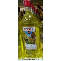 Ucanca - Licor de Platano Bananenlikör 20% Vol. 1l PET-Flasche produziert auf Teneriffa