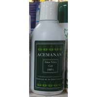 Acemanan - Aloe Vera Gel 100% 250ml produziert auf Gran Canaria