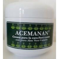 Acemanan - Aloe Vera Crema Facial Gesichtscreme 50ml produziert auf Gran Canaria