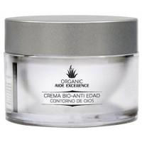 Aloe Excellence - Aloe Vera Crema Bio-Anti Edad Contorno de Ojos 100% Ecologico 30ml Dose produziert auf Gran Canaria