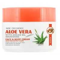Aloe Excellence - Aloe Vera with Argan Oil Nourishing 300ml Dose produziert auf Gran Canaria