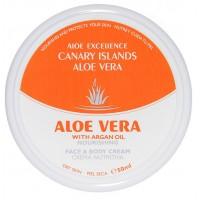 Aloe Excellence - Aloe Vera with Argan Oil Nourishing 50ml Dose produziert auf Gran Canaria