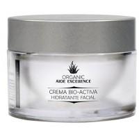 Aloe Excellence - Aloe Vera Crema Bio-Activa Hidratante Facial 100% Ecologico Bio 50ml Dose produziert auf Gran Canaria