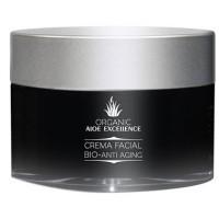 Aloe Excellence - Aloe Vera Crema Facial Bio-Anti Aging 100% Ecologico Bio 50ml Dose produziert auf Gran Canaria