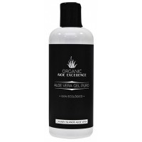 Aloe Excellence - Aloe Vera Gel 100% Natural Puro Organic Eco Bio 250ml Flasche produziert auf Gran Canaria