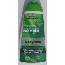 Aloe Vera Premium - Body Milk Eco Bio 400ml produziert auf Gran Canaria