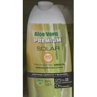 Aloe Vera Premium - Solar 20SPF Protection Media 25% Aloe Vera Sonnencreme 250ml produziert auf Gran Canaria