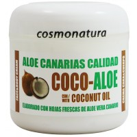 Aloe Canarias Calidad - Coco-Aloe Kokos-Aloe Vera Körpercreme 300ml Dose produziert auf Teneriffa