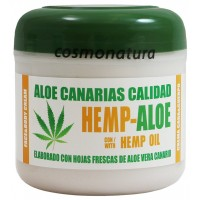 Aloe Canarias Calidad - Hemp-Aloe Hanf-Aloe Vera Körpercreme 300ml Dose produziert auf Teneriffa