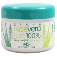 Cosmonatura - Crema Facial Corporal y Manos con Aloe Vera 250ml Dose produziert auf Teneriffa