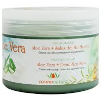 Cosmonatura - Aceite Aloe Vera Crema Masaje 250ml Dose produziert auf Teneriffa