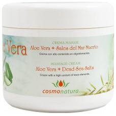 Cosmonatura - Aceite Aloe Vera Crema Masaje 500ml Dose produziert auf Teneriffa