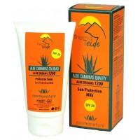 Thermal Teide - Protector Solar SPF20 Aloe Vera Sonnenschutzcreme LSF 20 150ml Tube produziert auf Teneriffa