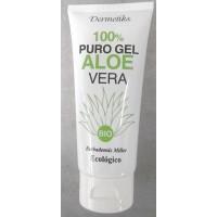 Dermetiks - 100% Puro Gel Aloe Vera Ecologico Bio Gel 100ml Tube produziert auf Gran Canaria