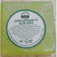 Finca Canarias - Jabon Artesano de Aloe Vera Handseife 20g produziert auf Gran Canaria