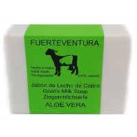 Jabon Fuerteventura - Jabon Leche de Cabra y Aloe Vera Ziegenmilchseife 110g produziert auf Fuerteventura