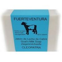 Jabon Fuerteventura - Jabon de Leche de Cabra y Oliva y Patchouli Cleopatra Ziegenmilchseife 110g produziert auf Fuerteventura