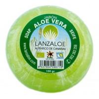 Lanzaloe - Aloe Vera Jaboncillos de Glicerina Seife 100g produziert auf Lanzarote