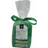 Lanzaloe - Sales de Bano Aloe Vera Ecologico Bio Badesalz 300g Tüte produziert auf Lanzarote