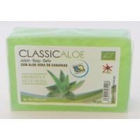 Nutraloe - ClassicAloe Jabon con Aloe Vera de Canarias Seife 100g produziert auf Lanzarote
