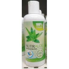 Nutraloe - Gel Puro de Aloe Vera 100% Eco Bio 250ml Flasche produziert auf Lanzarote
