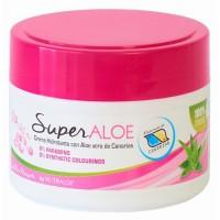 Nutraloe - Superaloe Crema de Aloe Vera de Canarias con Rosa Mosqueta Eco Bio-Creme 250ml Dose produziert auf Lanzarote