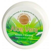 Sublime Canarias - Aloe Vera Manos y Cuerpo Hand- & Körpercreme 50ml Dose produziert auf Gran Canaria