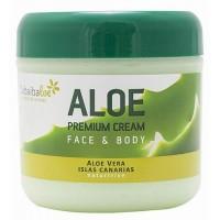 Tabaibaloe - Aloe Premium Cream Face & Body Aloe Vera 300ml produziert auf Teneriffa
