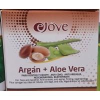 eJove - Argan + Aloe Vera Crema Rostro y Escote 100ml produziert auf Gran Canaria