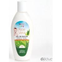 eJove - Gel de Ducha Aloe Vera Baby Duschbad für Kleinkinder 200ml produziert auf Gran Canaria