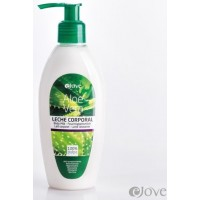 eJove - Leche Corporal Aloe Vera Feuchtigkeitsmilch 200ml Pumpflasche produziert auf Gran Canaria