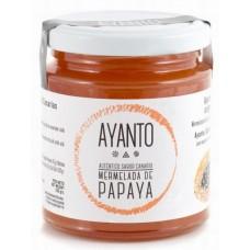 Ayanto - Mermelada de Papaya Marmelade 250g Glas produziert auf La Palma