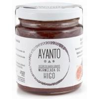 Ayanto - Mermelada de Higo Marmelade aus reifen Feigen mit Zimt 250g Glas produziert auf La Palma