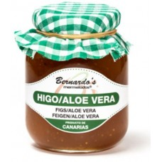 Bernardo's Mermeladas - Higos - Aloe Vera Feigenkonfitüre mit 20% Aloe Vera 240g produziert auf Lanzarote