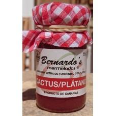 Bernardo's Mermeladas - Cactus-Banana Kaktus-Bananen-Konfitüre extra 65g produziert auf Lanzarote