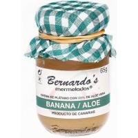 Bernardo's Mermeladas - Banana / Aloe Vera Bananenkonfitüre mit 20% Aloe Vera 65g produziert auf Lanzarote