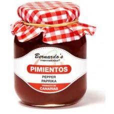 Bernardo's Mermeladas - Crema de Pimiento Paprika-Creme Marmelade 240g produziert auf Lanzarote