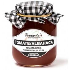Bernardo's Mermeladas - Crema de Tomate y Albahaca Tomaten-Basilikum-Konfitüre 65g produziert auf Lanzarote