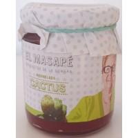 El Masapè - Mermelada de Cactus 66% Fruta Marmelade aus grünen Kaktusfeigen 290g produziert auf La Gomera
