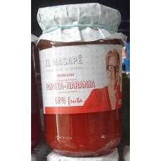 El Masapè - Mermelada Papaya-Naranja 68% Fruta Papaya-Orangen-Marmelade 400g produziert auf La Gomera