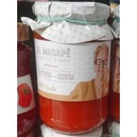 El Masapè - Mermelada Papaya-Coco 68% Fruta Papaya-Kokos-Marmelade 400g produziert auf La Gomera